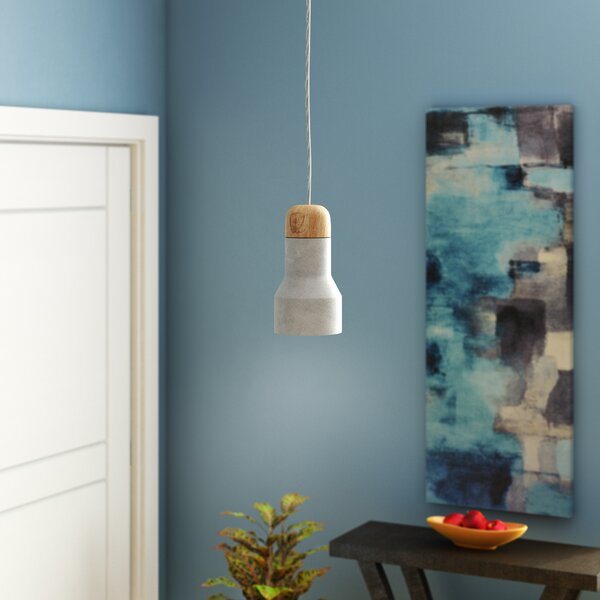 Marco 1-Light Bell Pendant by Langley Street
