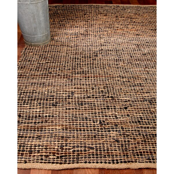 Cosmo Leather Hand Loomed Area Rug by Natural Area Rugs