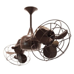 Twin ceiling fans youll love wayfair 36 duplo dinamico 6 blade ceiling fan aloadofball Images