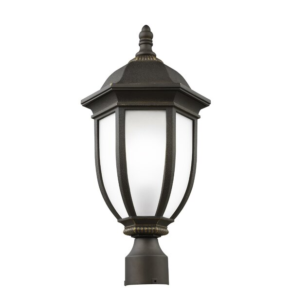 Nicolette 1-Light Outdoor Lantern Head by Charlton Home