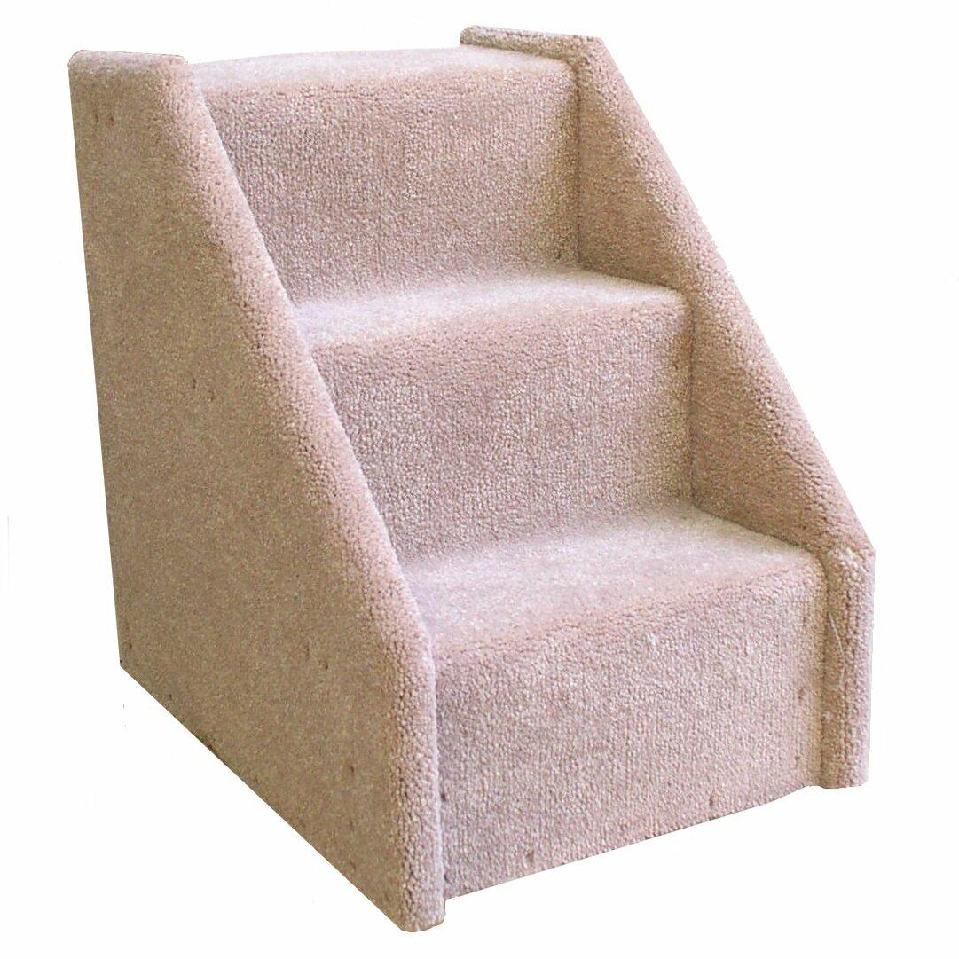 Superieur Animal Stuff Bearu0027s Stairs™ Mini Carpeted 3 Step Pet Stair U0026 Reviews |  Wayfair