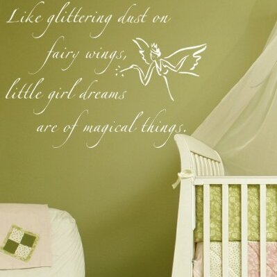 Fairy Dust Wall Decal by Alphabet Garden Designs