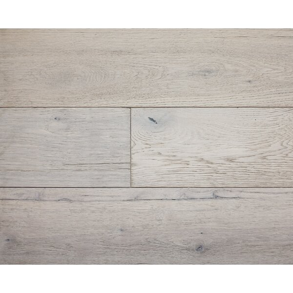 American Traditions 7 Engineered White Oak Hardwood Flooring in Platinum by Albero Valley