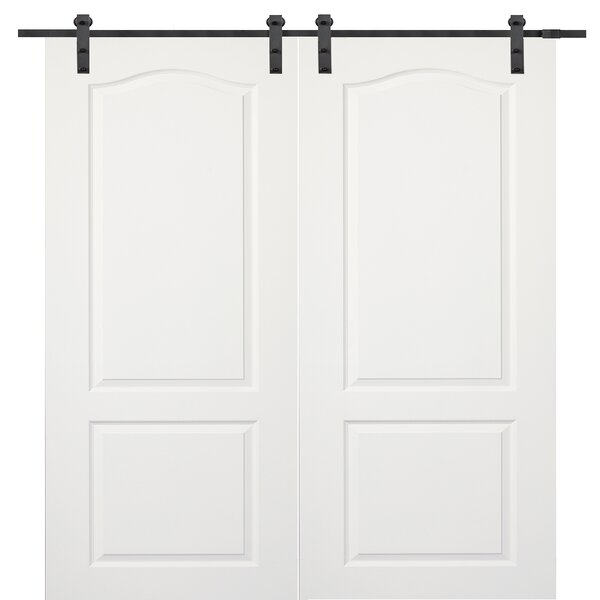 Princeton MDF 2 Panel Interior Barn Door by Verona Home Design