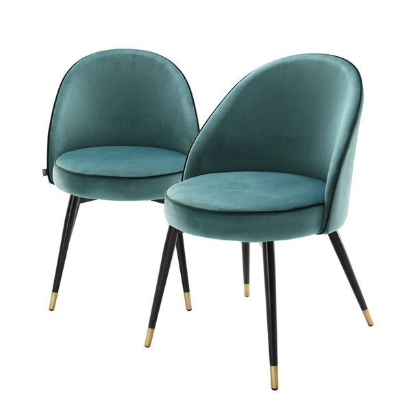 Upholstered Side Chair (Set of 2) by Eichholtz Eichholtz