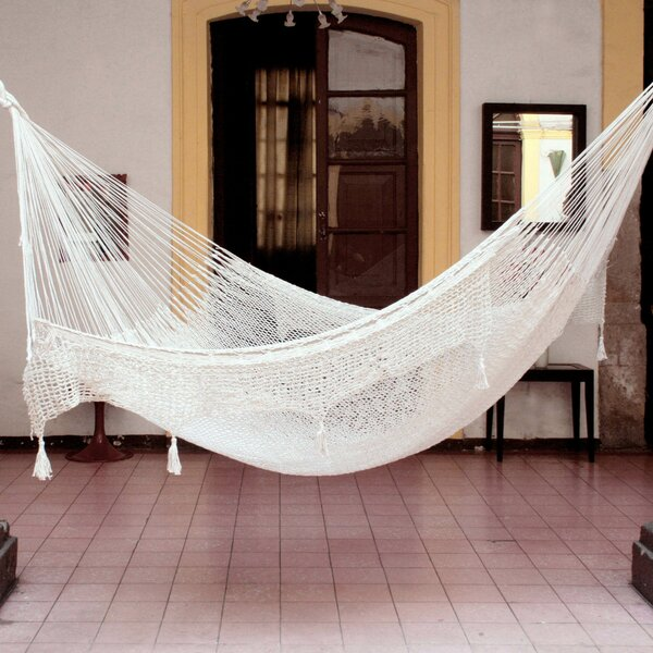 Maya Artists of The Yucatan 'Endless Summertime Swing' Double Tree Hammock by Novica Novica