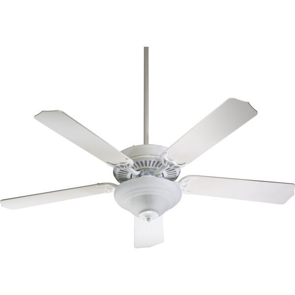 52 Dunrobin Traditional 5-Blade Ceiling Fan by Three Posts