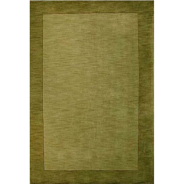 Henley Hand-Tufted Green Dark Area Rug by Wildon Home ®