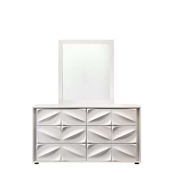 Amsterdam 6 Drawer Double Dresser by Orren Ellis