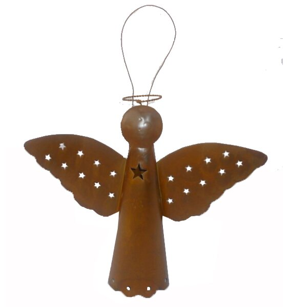 Bell Angel Tree Topper by Craft Outlet