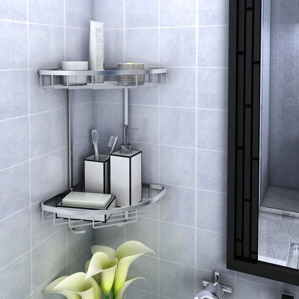 Patricia Aluminum Shower Caddy by Rebrilliant