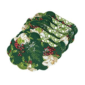 Mccomas Oval 19 Placemat (Set of 6) by The Holiday Aisle