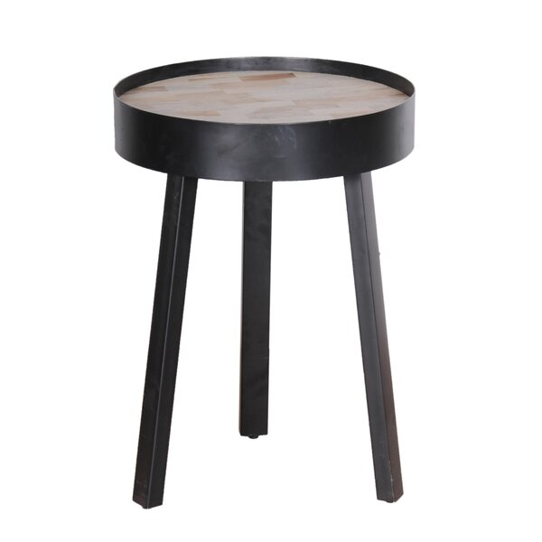 Boger Round End Table by Williston Forge