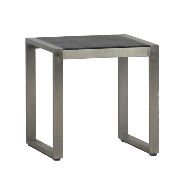 Cirrus Stainless Steel Side Table by Summer Classics