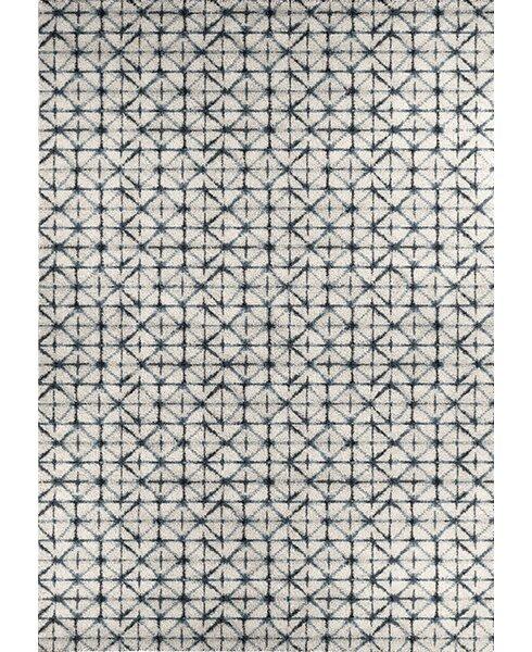 Aubuchon Gray Area Rug by Brayden Studio