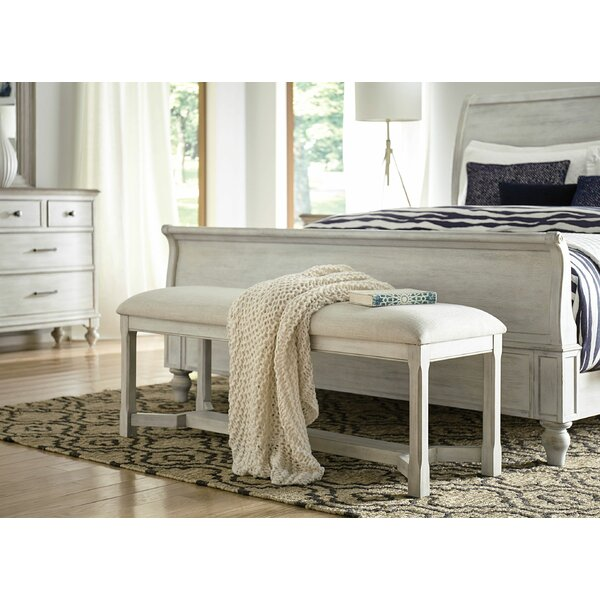 Lesley Upholstered Bench by One Allium Way One Allium Way