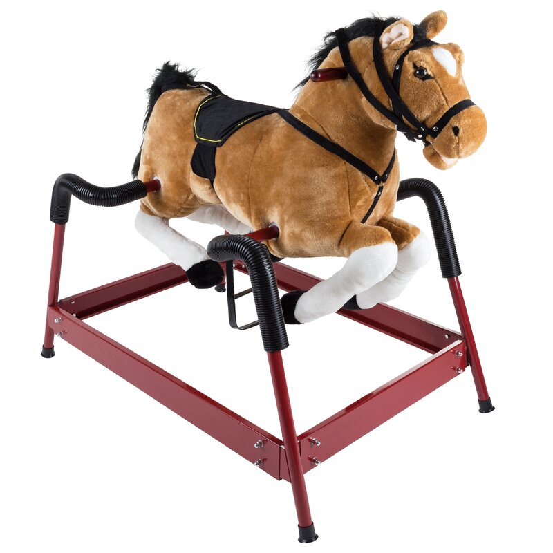 Happy Trails Spring Rocking Horse Amp Reviews Wayfair Ca