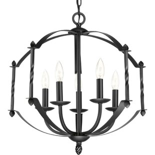 Check Prices Brii 5-Light Chandelier By Red Barrel Studio