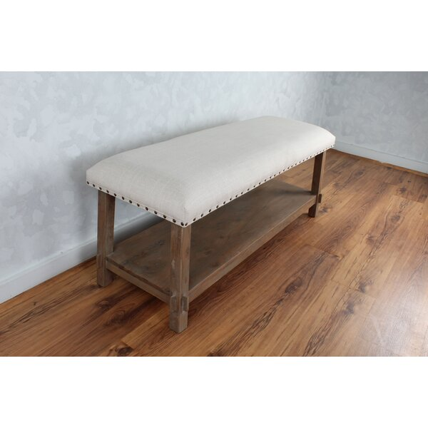 Bethzy Wood Upholstered Storage Bench By Gracie Oaks Fresh