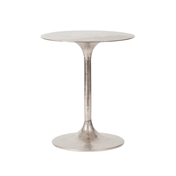 Shoup Pedestal End Table by Brayden Studio