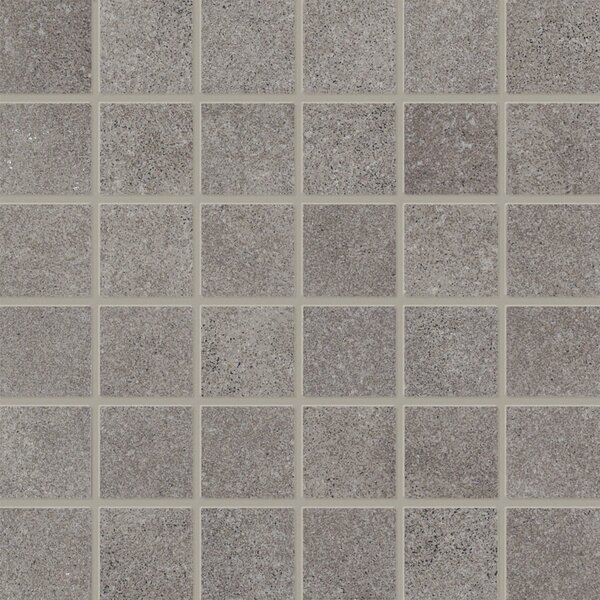 Central Station 12 x 12 Porcelain Field Tile in Gray by PIXL