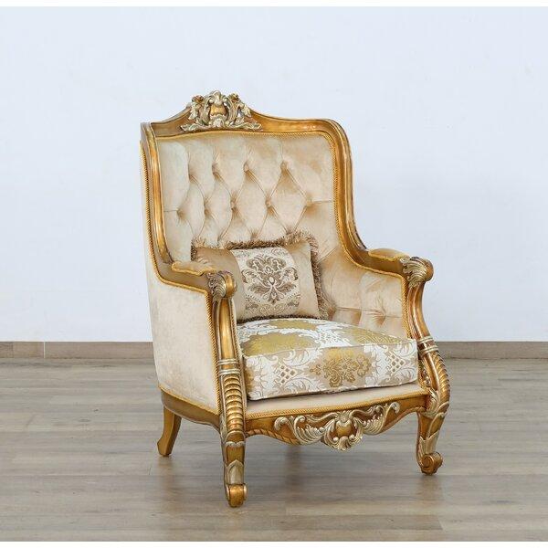 Bannan 21.5-inch Wingback Chair by Astoria Grand Astoria Grand