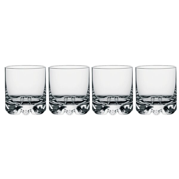Erik Old Fashioned Glass 12 oz. Crystal (Set of 4) by Orrefors