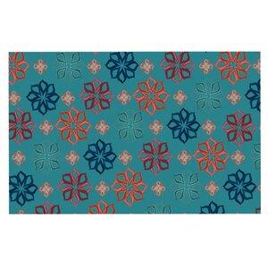 Jolene Heckman 'Mini Flowers' Doormat