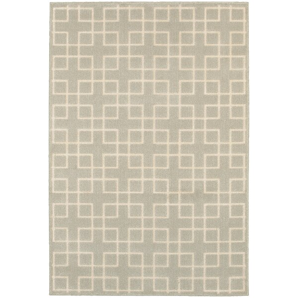 Albrecht Ivory Area Rug by Latitude Run
