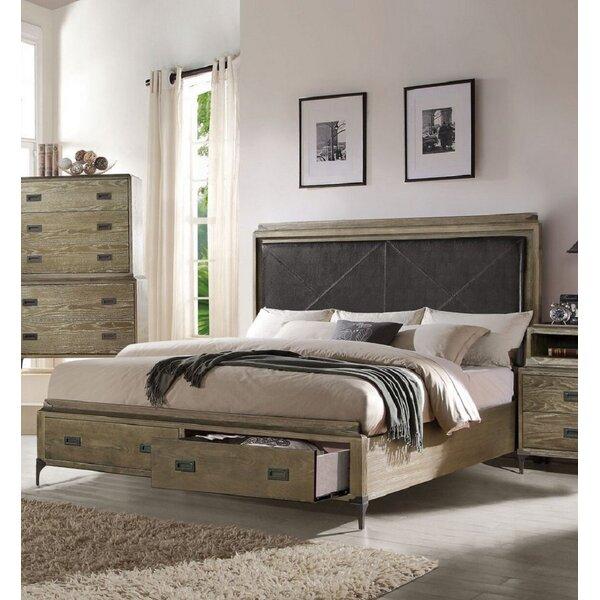 Salzman Eastern King Storage Standard Bed by Union Rustic