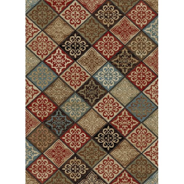 New York Mosaic Brown Area Rug by Rugs of Dalton