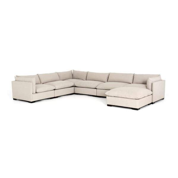 Check Price Southwold 6-Piece Sectional With Ottoman