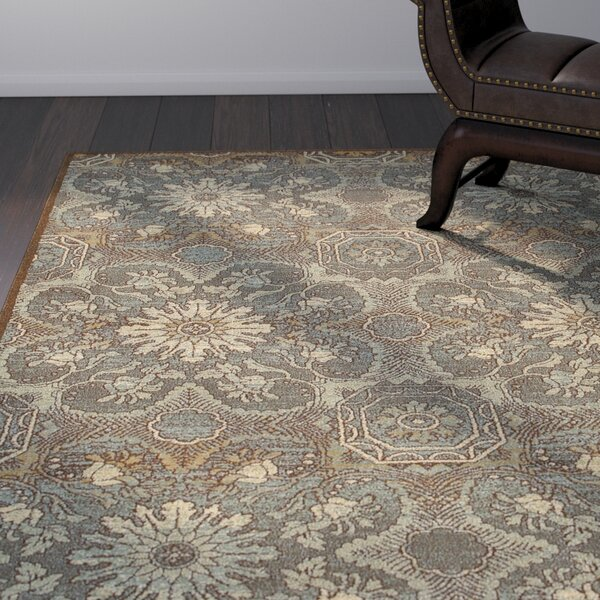 Clarkson Brown/Teal Area Rug by World Menagerie