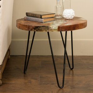 Aramingo End Table by Mercury Row
