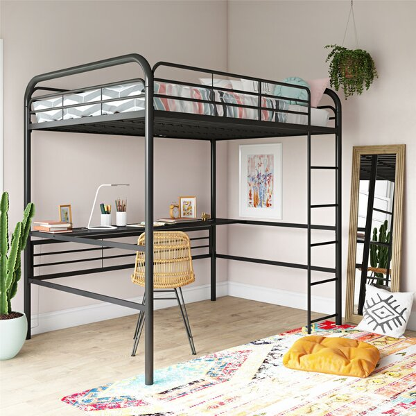 Dawson Metal Loft Bed by Isabelle & Max