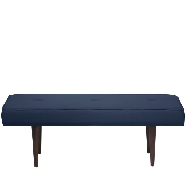 Aldgate Tufted Polyester Upholstered Bench by Corrigan Studio