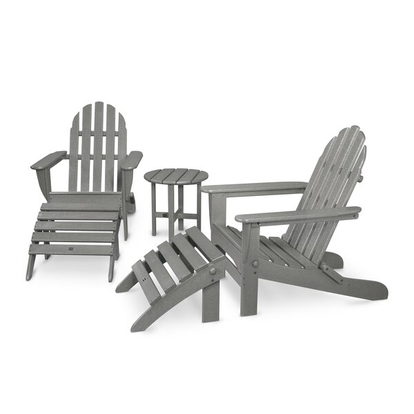 Classic Adirondack 5 Piece Seating Group by POLYWOOD®