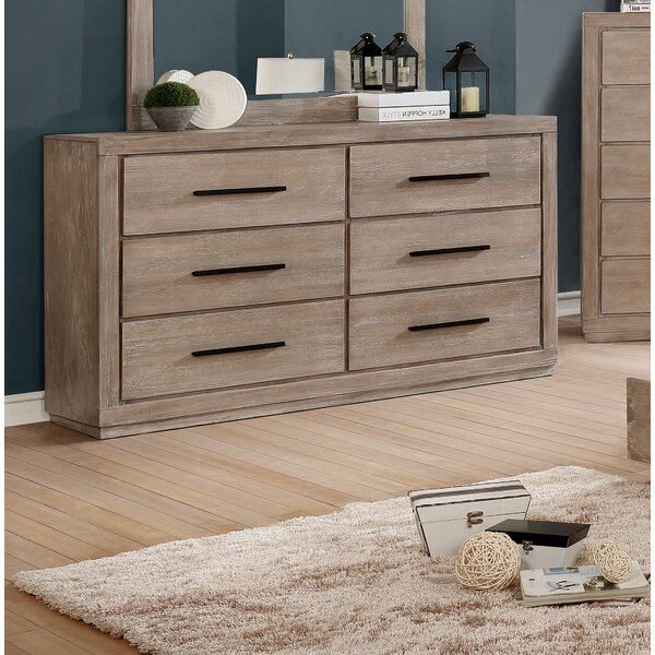 Mcmillen 6 Drawer Double Dresser by Gracie Oaks