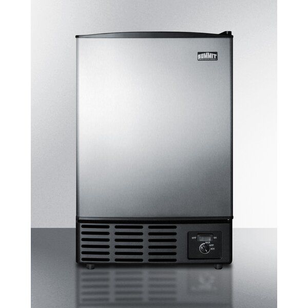 Summit 15 12 lb. Daily Production Built-In Ice Maker by Summit Appliance