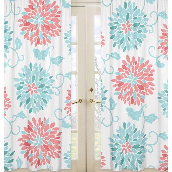 Emma Curtain Panels (Set of 2) by Sweet Jojo Designs