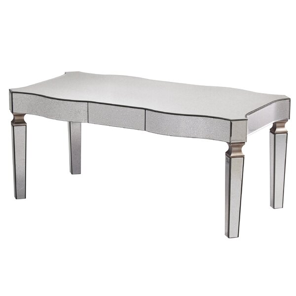 Paulsen Mirrored Coffee Table by House of Hampton