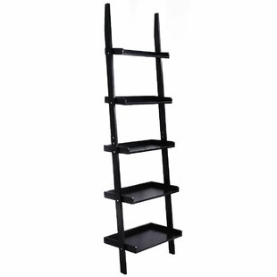 Luz 5-Tier Ladder Bookcase Ebern Designs