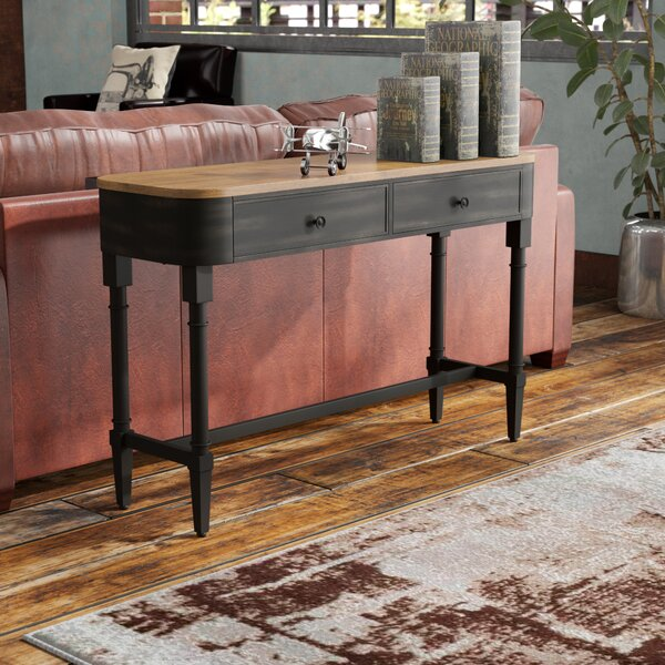 Review Piestewa Wood Console Table