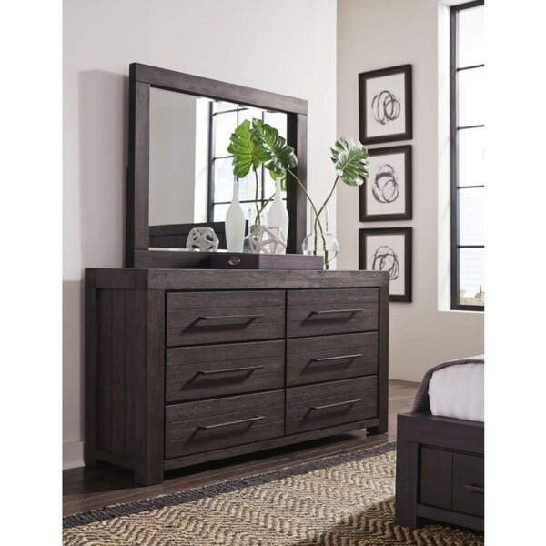 Boyes Wooden 6 Drawer Double Dresser by Foundry Select