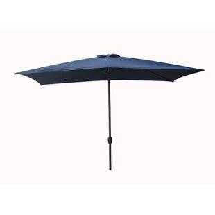 10u0027 X 6.5u0027Rectangular Market Umbrella ByLB International ...