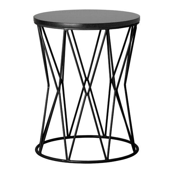 Dunstaffnage Okedo Accent Stool by Ivy Bronx