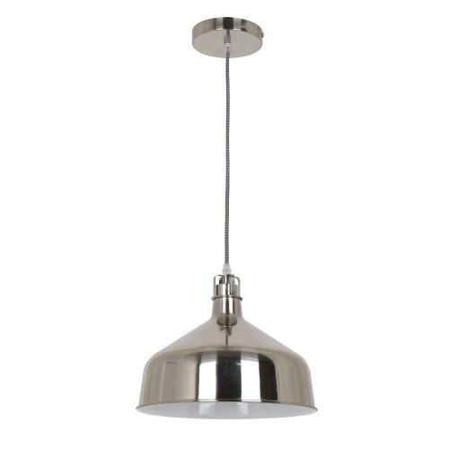 Iglu Industrial Hanging 1 Light Inverted Pendant by OHR Lighting