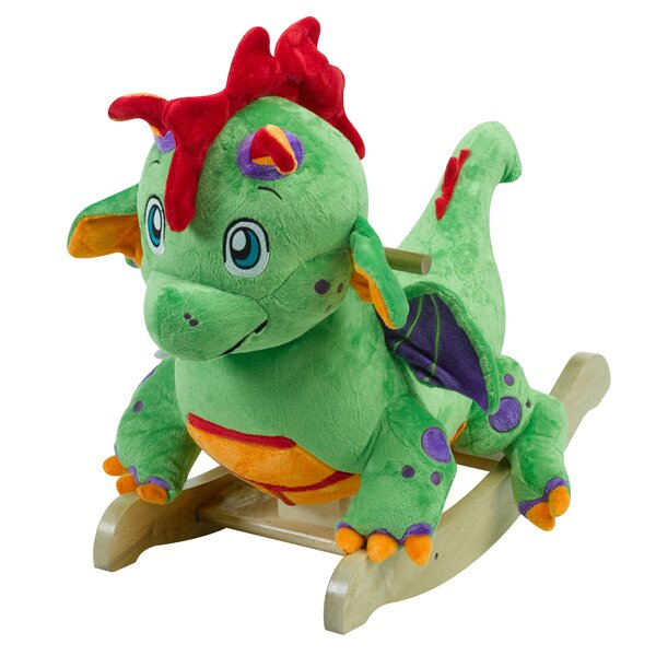 Poof Dragon Classic Rocker by Rockabye