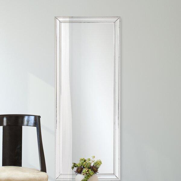Clarimond Silver Rectangle Wall Mirror by Willa Arlo Interiors