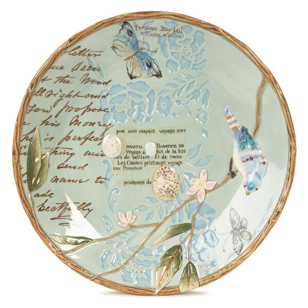 Toulouse Round Platter by Fitz and Floyd
